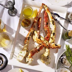 Grilled Alaska King Crab Leg