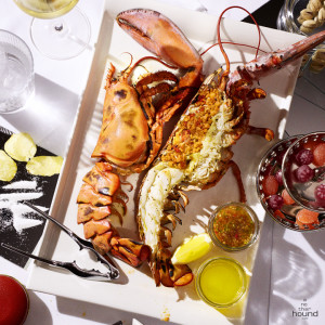Grilled Jumbo Canadian Lobster