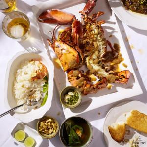 Grilled Jumbo Canadian Lobster Set